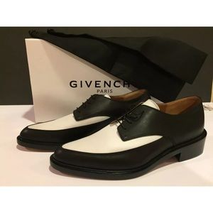 Givenchy women's oxfords black white 40 /9.5 $1195